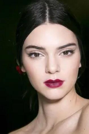 2015 Wedding Trends - Dark purple statement lipstick from Rebecca Loves Weddings www.rebeccaanderton.co.uk