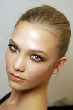 2015 Wedding Trends - Smokey dark eye makeup with gold from Rebecca Loves Weddings www.rebeccaanderton.co.uk