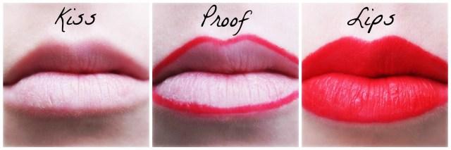 Kiss Proof Lipstick from Rebecca Loves Weddings www.rebeccaanderton.co.uk