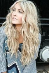 Prom Hair and Makeup Inspiration - Beachy prom hair from Rebecca Loves Weddings www.rebeccaanderton.co.uk