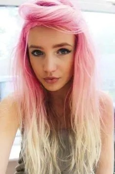 Prom Hair and Makeup Inspiration - Pink and blonde hair from Rebecca Loves Weddings www.rebeccaanderton.co.uk