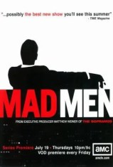 Sixties Wedding Style File - Mad Men poster from Rebecca Loves Weddings www.rebeccaanderton.co.uk