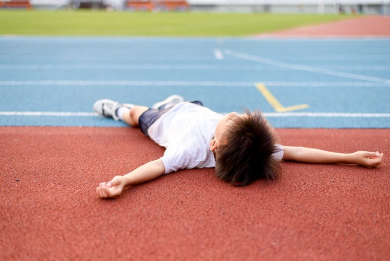 Children and exercise: can they have too much of a good thing?