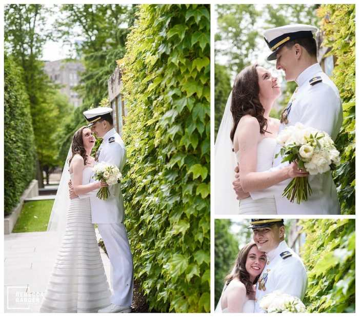 barnes foundation wedding photos