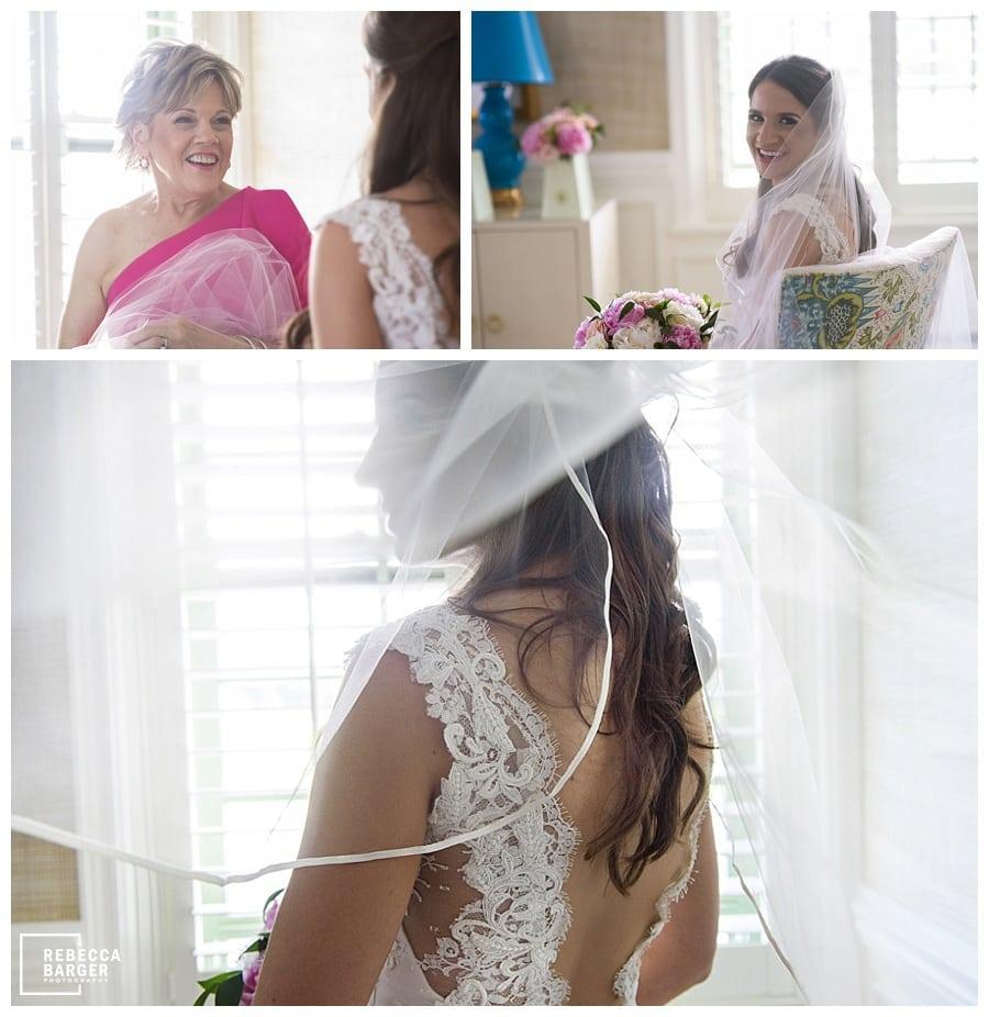 Amanda dander hair, The Wedding Shoppe, Ines di Santo real wedding