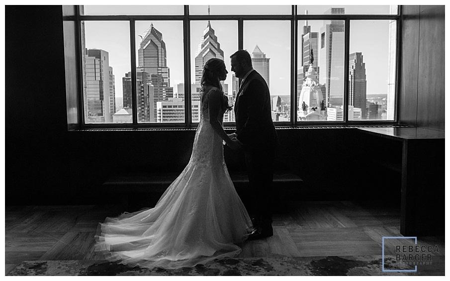 Loews hotel wedding view