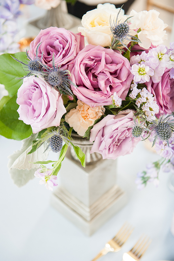 Lavender And Peach Manor Wedding Inspiration Rebecca