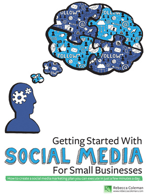 Getting Started With SOCIAL MEDIA For Small Businesses - Book Co
