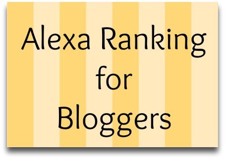 alexa ranking for bloggers