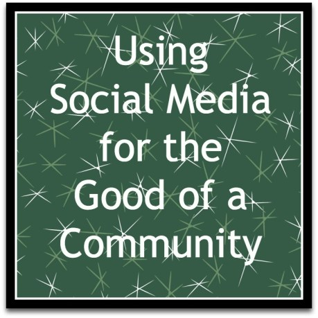 using social media for good