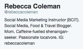 instagram in twitter profile