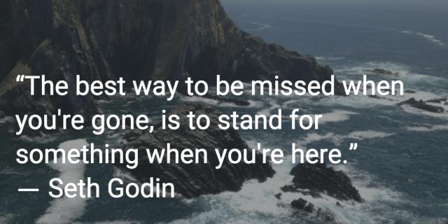 seth godin quote inspiration
