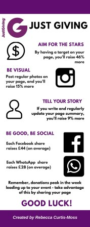 Just Giving Infographic