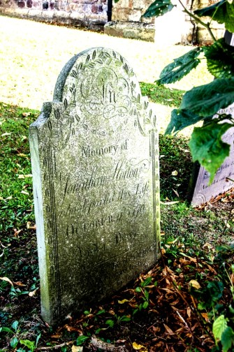 A Horton Grave at St. Nicholas Church, MOwsley, England