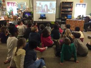Rebecca Skype visit