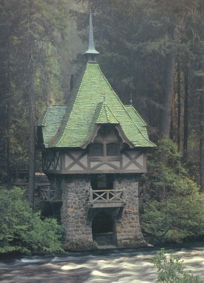 Teahouse, Wyntoon, Siskiyou County, California,
