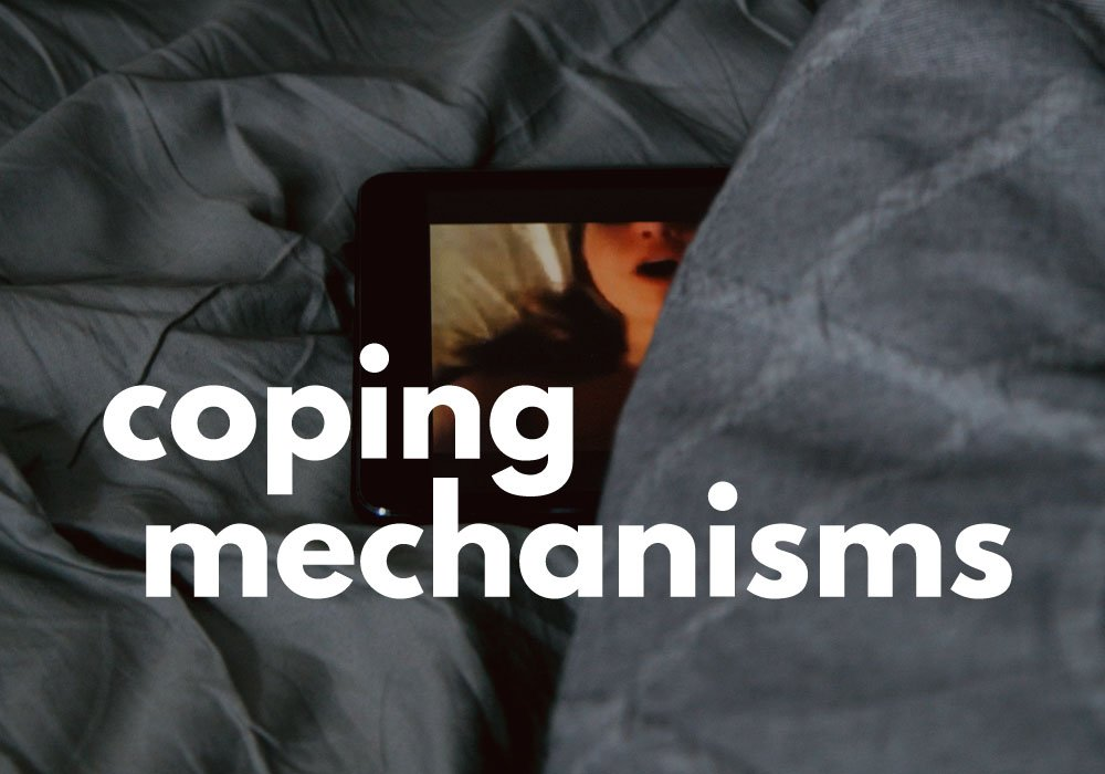 Cover image for COPING MECHANISMS by Rebecca Jones-Howe