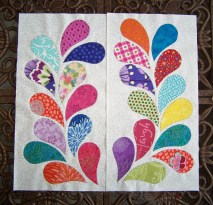 quilt feathers
