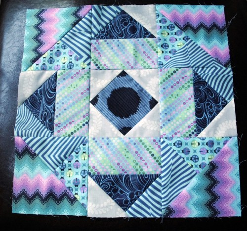 block of the month quilt block