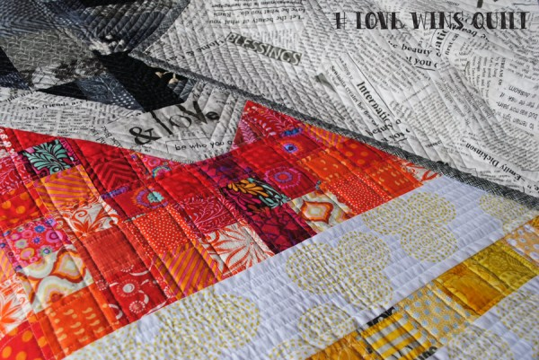 love wins quilt pattern