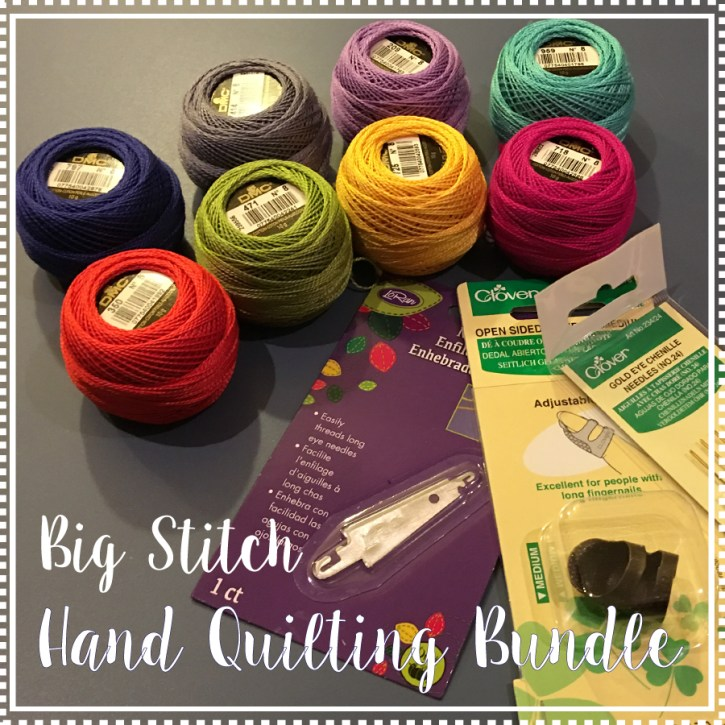 Pearl Cotton Hand Quilting Bundle