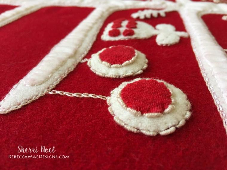 Jul i scandinavia christmas quilt a long wool applique