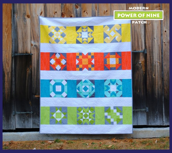 Power of nine Block of the Month Pattern