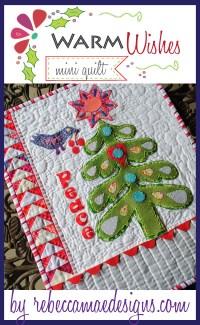 christmas mini quilt pattern