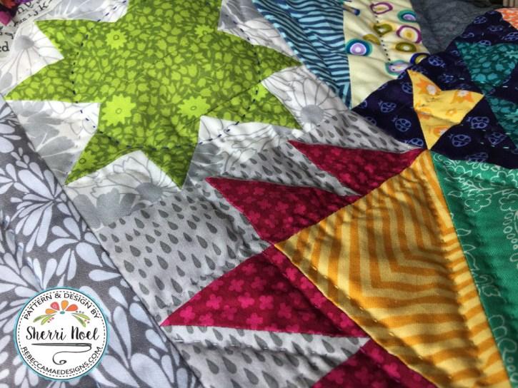 Dear Daughter Block of the month Quilt by Sherri Noel, Rebecca Mae Designs