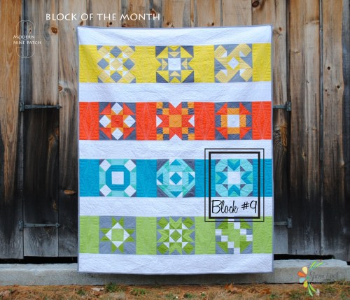 block of the month quilt a long
