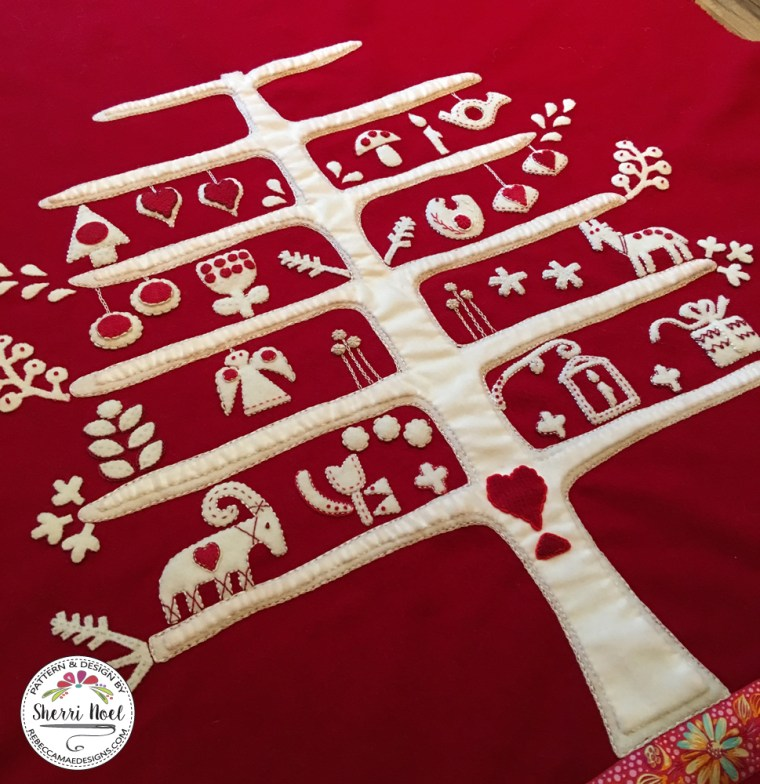Jul i Scandinavia quilt-a-long