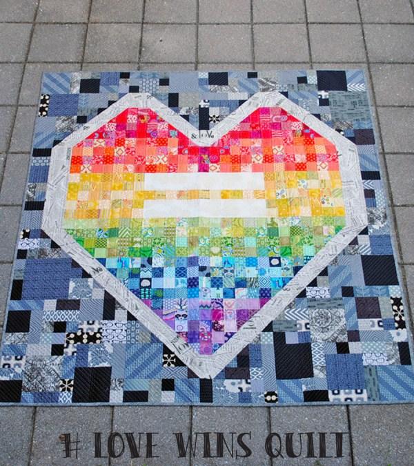 love wins quilt
