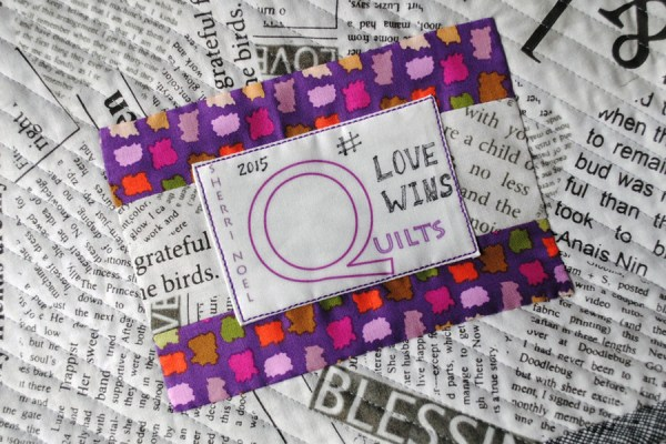 love wins quilt pattern