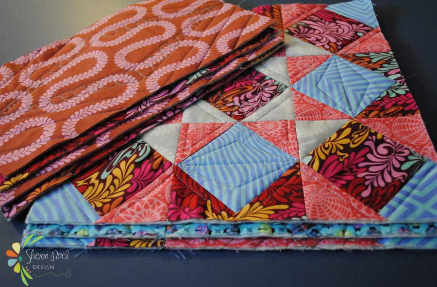How to Join Quilt Blocks as You Go TUTORIAL : sew as you go quilts - Adamdwight.com