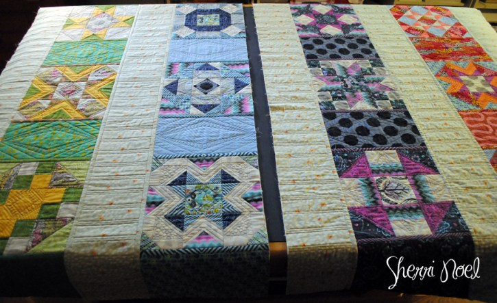 joining quilted rows