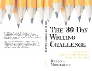 The 30-Day Writing Challenge book cover.