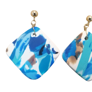 Diamond Dangle Earrings #2
