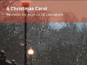 EMC Study Guide. A Christmas Carol