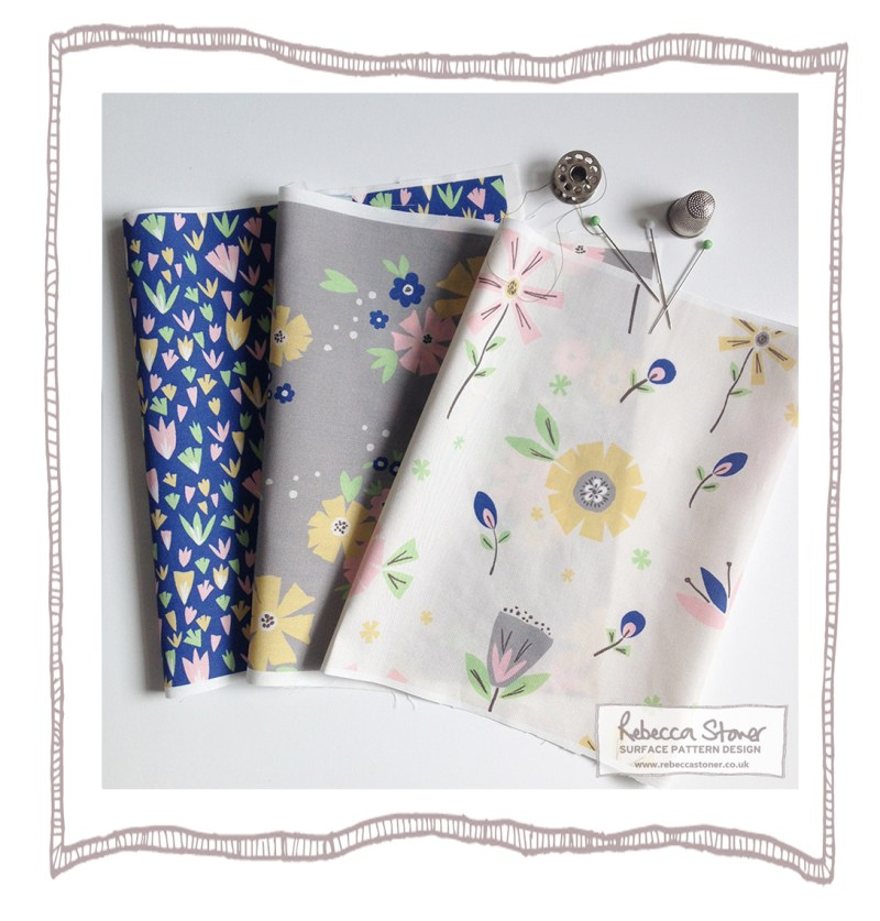 Collage Flowers Collection by Rebecca Stoner