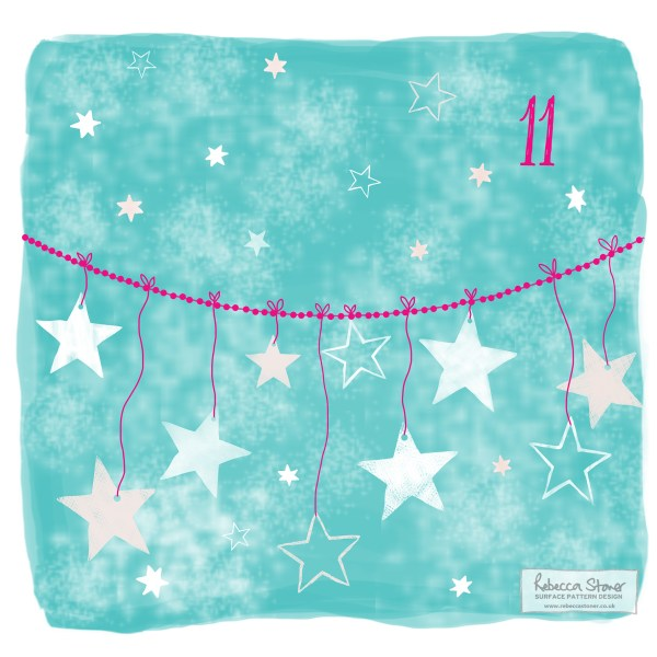Illustrated Advent Day 11 by Rebecca Stoner