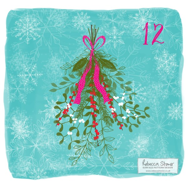 Illustrated Advent Day 12 by Rebecca Stoner