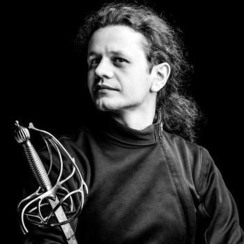 Tomasz Kraśnicki Rebel Fencing Szkoła Szermierki klasycznej trener