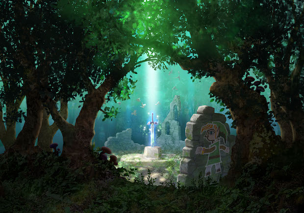 Artwork - Zelda - A Link Between Worlds