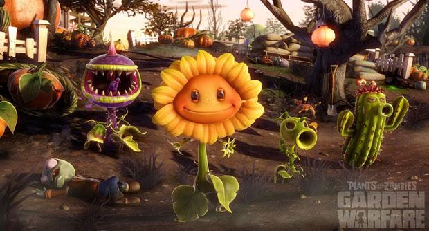 Plants vs Zombies- Garden Warfare Test 4