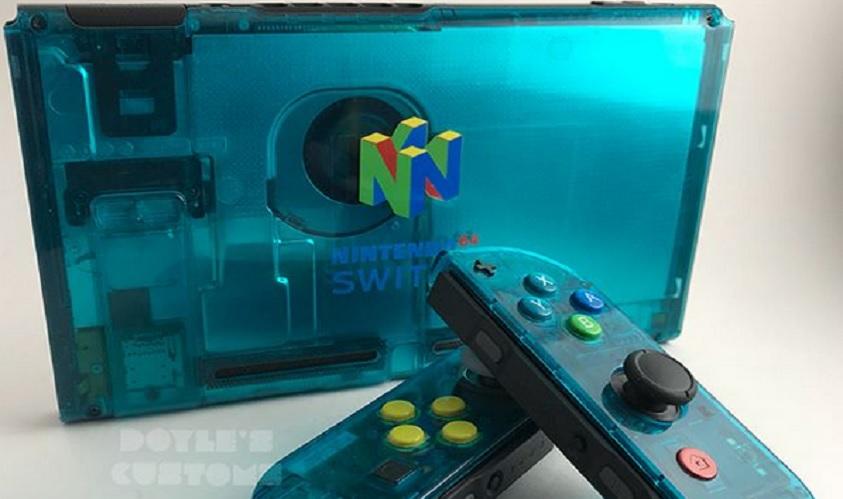 So cool sieht die Nintendo Switch im N64-Design aus