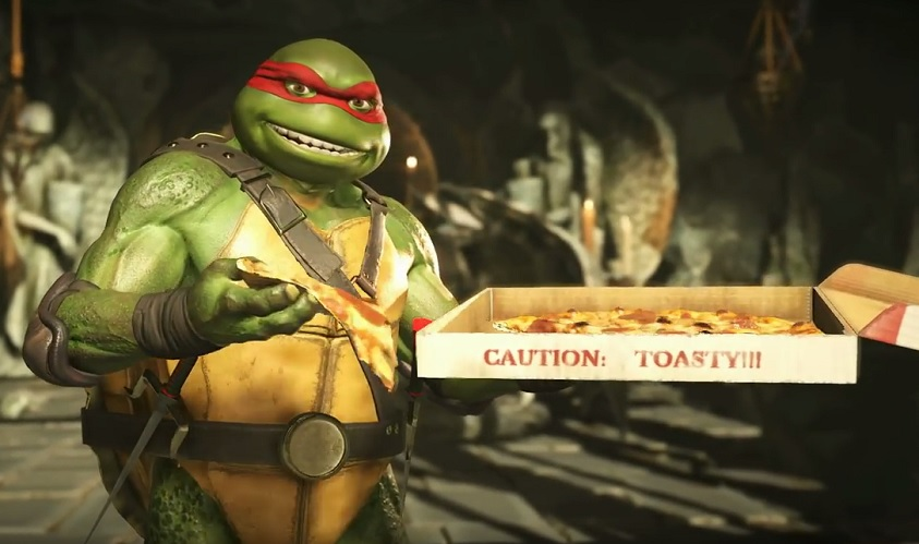 Injustice 2: Teenage Mutant Ninja Turtles (DLC) im Trailer