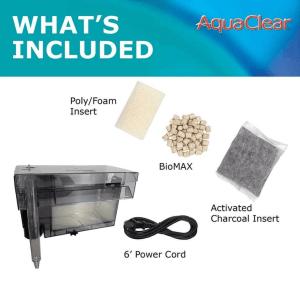 A620 AquaClear 110 Power Filter incl at Rebel Pets