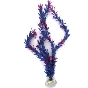 PP120Q16 Plastic Plant Long Leaf Purple 405mm at Rebel Pets