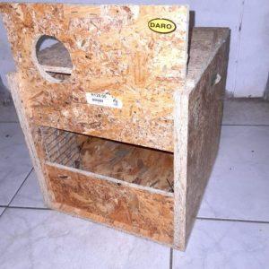 Daro Wooden Cockatiel Nest at Rebel Pets