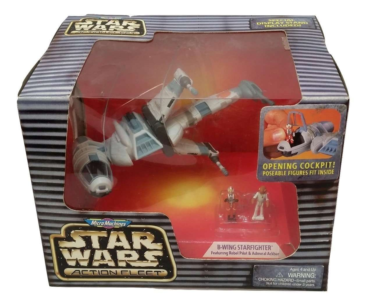 PILOT LUKE /& GUNNER FIGURES STAR WARS ACTION FLEET SERIES REBEL SNOWSPEEDER W